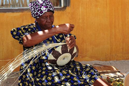 Ovambo Namibia Region Leben Kultur