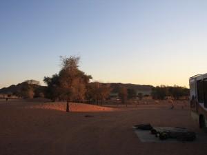 Namibia - Sesriem - Campingplatz bei Sesriem - Namibias Süden