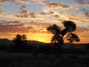 Namibia - Erongo Gebirge - Sonnenuntergang - 2 Wochen Namibia
