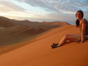 Auf den Dünen des Sossusvlei - Namibia Rundreise Selbstfahrer