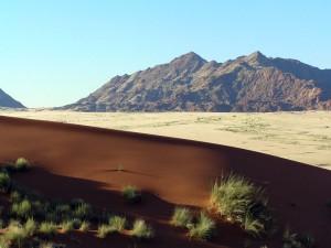 Namibia - Blick über das Sossusvlei und Deadvlei - Namibia Botswana