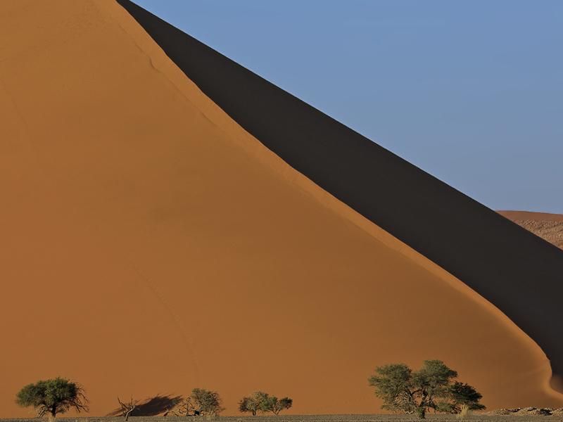 Sossusvlei Selbstfahrer rote Sanddünen Namibia