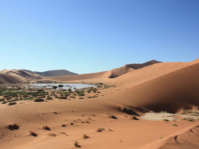 Namibia - Weite des Landes - Dachzelt Namibia
