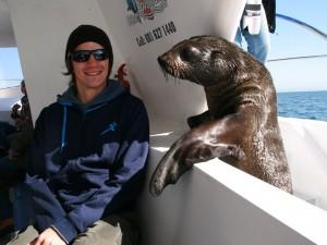 Katamaran Ausflüge Seehunde Swakopmund Namibia