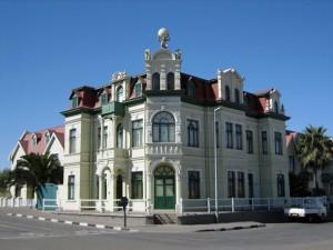 Koloniale Gebäude in Skakopmund