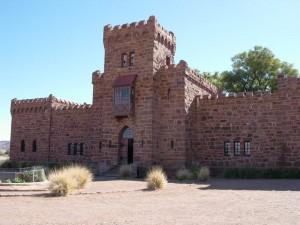 Ein skurriles Bauwerk: das Schloss Duwisib