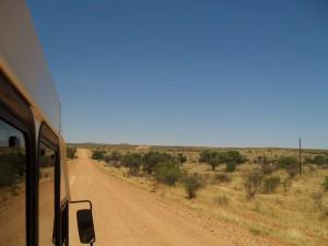 Unterwegs im Join-In-Safaribus