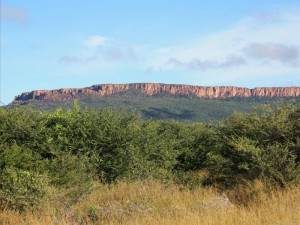 Aussicht Waterberg Plateau Grootfontein Namibia