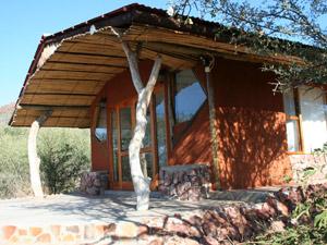 Ein Bungalow der Special-Stay Unterkunft bei Waterberg