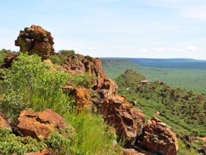 Namibia - Waterberg Plateau - Felsen im Nationalpark - 2 Wochen Namibia