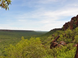 Ausblick Landschaft Waterberg Plateau Namibia Highlights