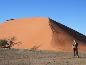 Namibia - Auf dem Weg zur Düne 45 - Etosha