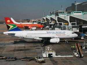 Rückflug aus Windhoek