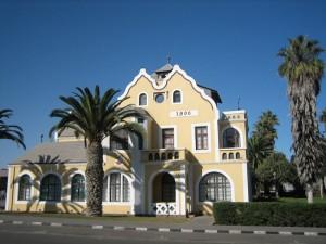 Namibia - Koloniale Gebäude in Windhoek - Rundreise Namibia, Botswana und Victoria Falls