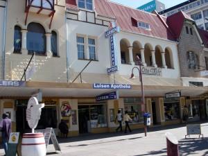 Namibia - Innenstadt von Windhoek - Namibia Botswana