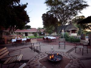 Namibia - Okahandja - Feuerstelle