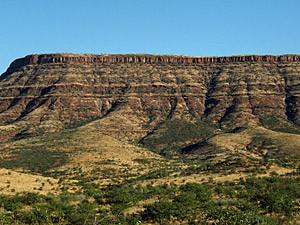 Namibia - Damaraland - der Grootberg im Damaraland - von Windhoek zu den Victoria Fällen