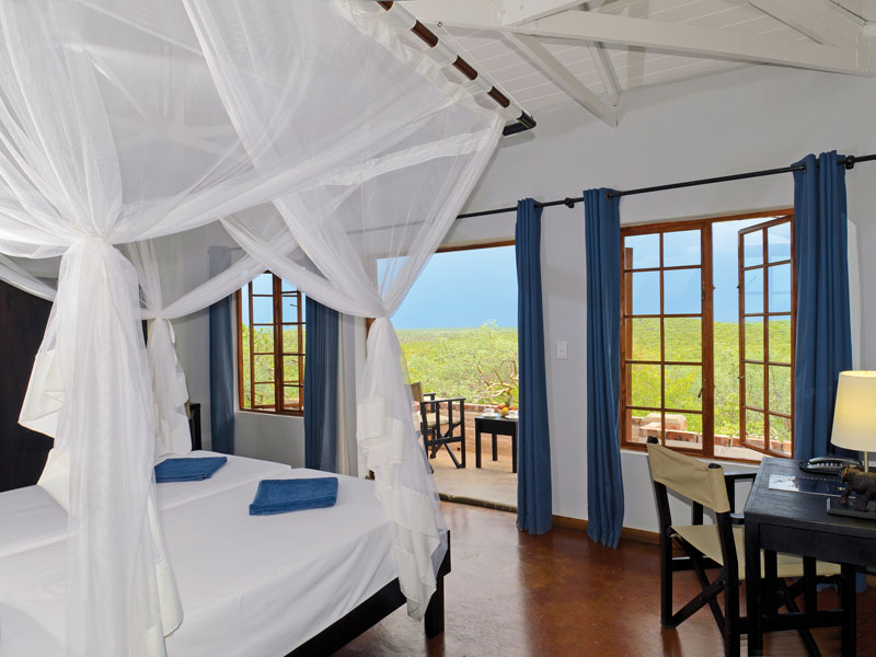 Etosha Nationalpark Namibia Unterkunft Komfortzimmer