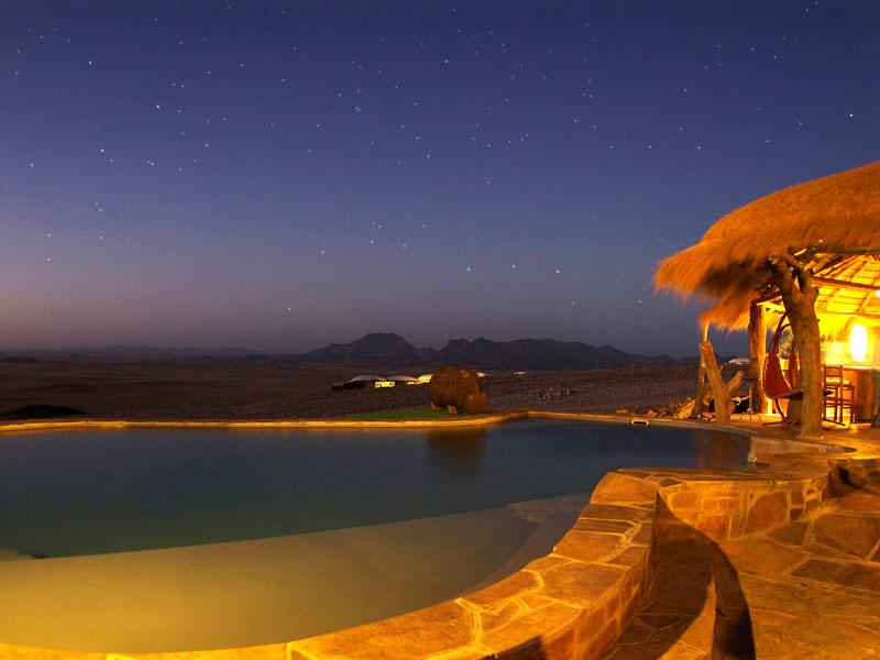 Solitaire Komfortzimmer Namibia Rundreise