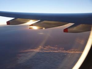 Namibia - Windhoek - Blick aus dem Flugzeug - Rundreise Namibia Botswana