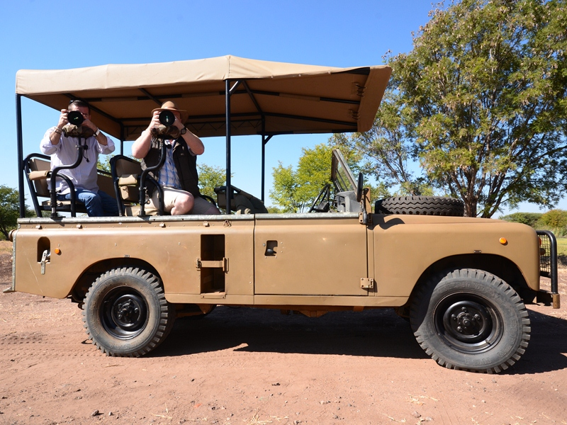 Chobe Nationalpark Safari Jeep Botswana