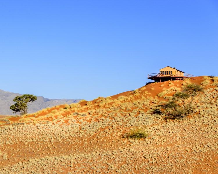 Namibia - Sossusvlei - Aussicht beim Namib Dune Star Camp