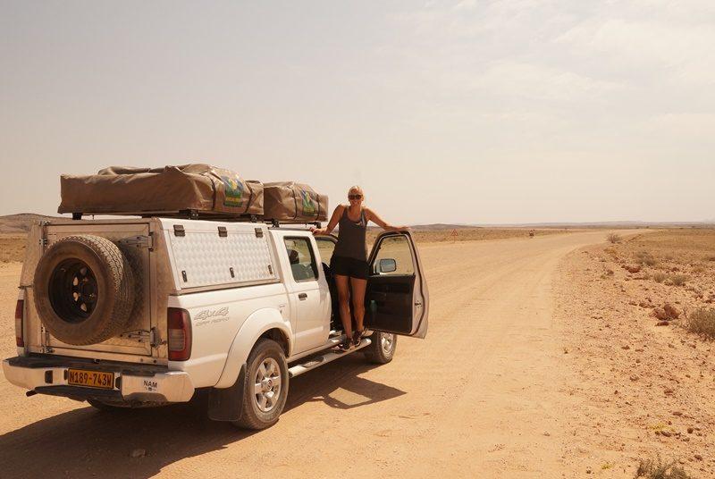 Reisespezialistin Saskia unterwegs in Namibia