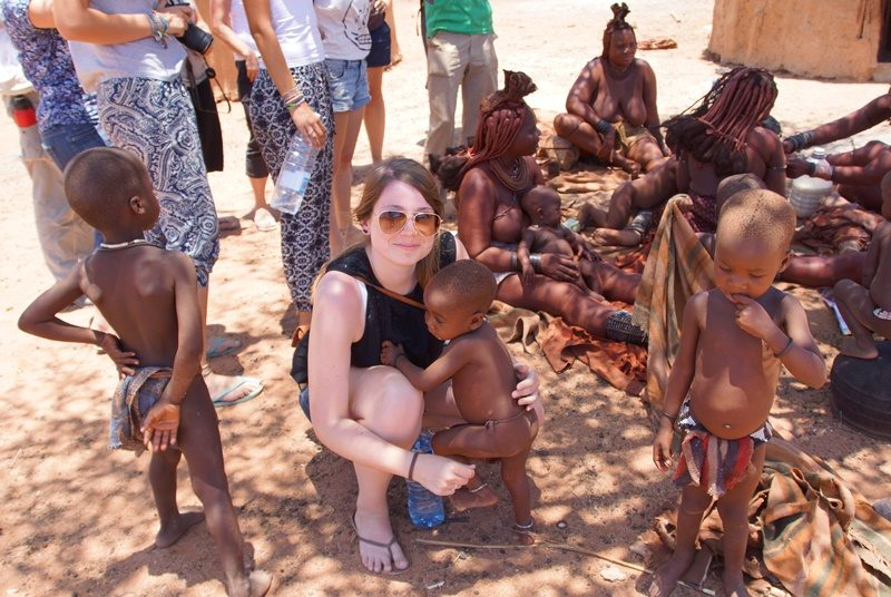 Besuch bei den Himba in Namibia