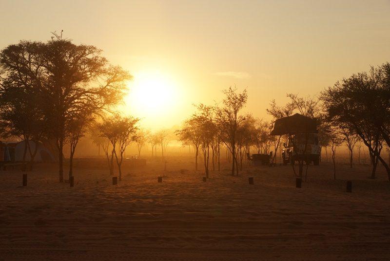 Sonnenuntergang in Sesriem