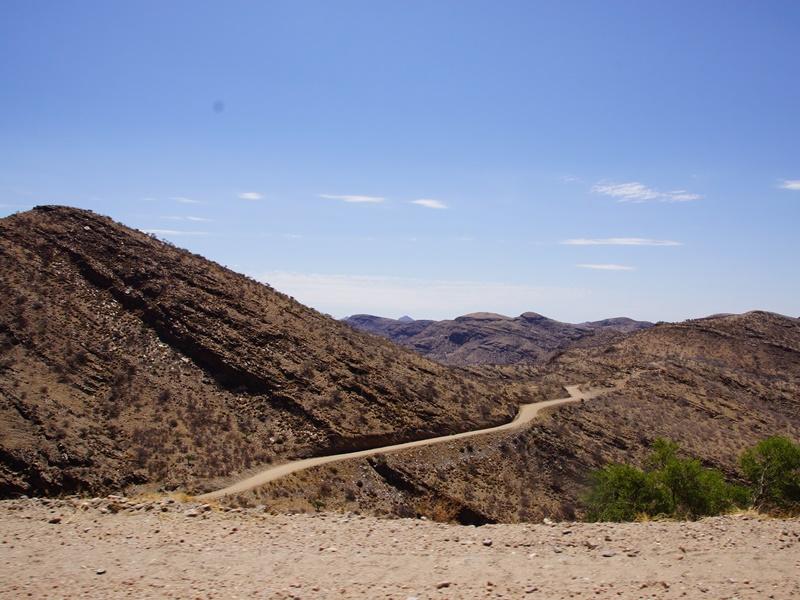Gamsberg Pass Namibia