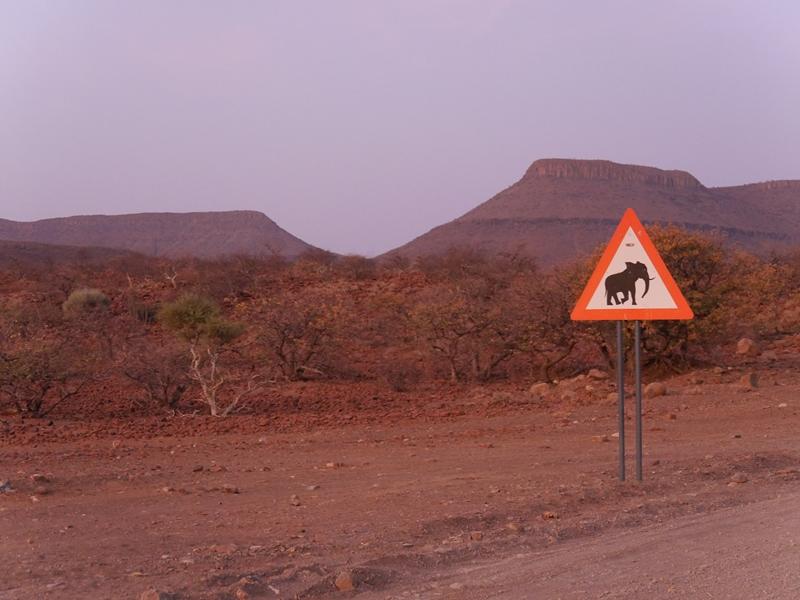 Weite Landschaften in Namibia