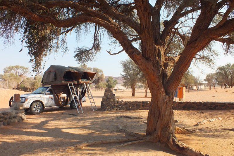 Campingplatz in Namibia