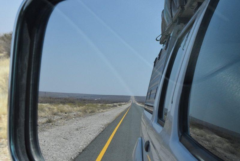 Einsamkeit in Namibia