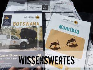 Wissenswertes zu Ihrer Namibiareise