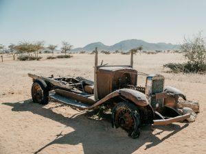 Namibia - Solitaire - Autowrack - Ankerkraut