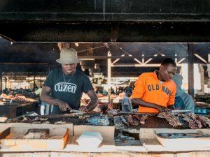 Namibia - Windhoek - Besuch auf dem Markt in Katutura - Ankerkraut