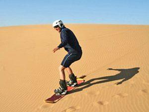 Namibia - Swakopmund - Sandboarding - Namibia Familienreise