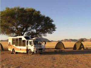 Gemeinsam in der Gruppe Namibia entdecken