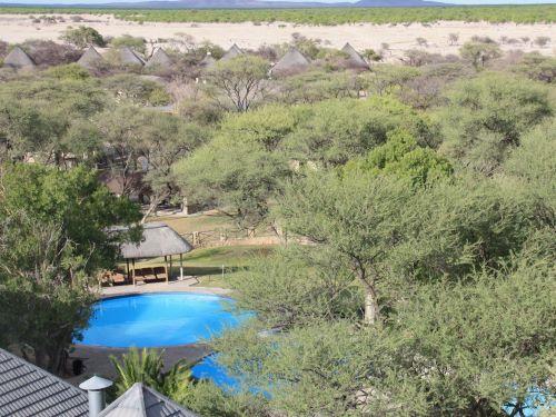 Etosha Nationalpark Okaukuejo Camp Pool