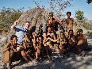 Bei den Buschmännern in Grootfontein