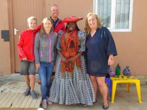 Ende Ihrer Rundreise durch Namibia und Botswana mit Kindern