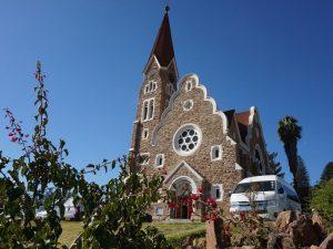 Beginn des Namibia Urlaubs mit Kindern in Windhoek