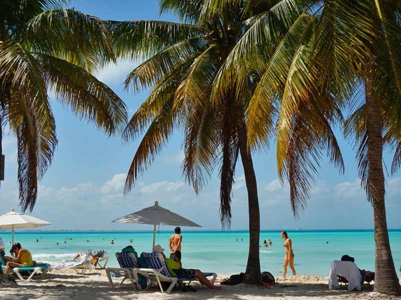 strand Mexico Kids - Isla Mujeres Playa