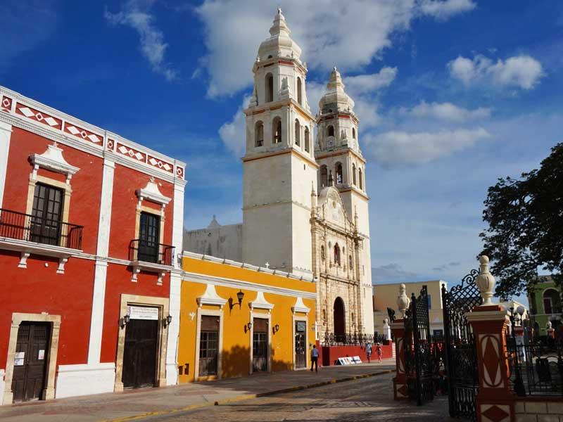 Campeche Mexico Kids - koloniaal