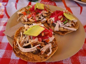 rondreis yucatan met kinderen taco's