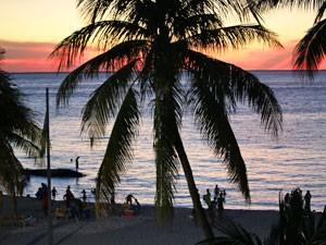 zonsondergang-mexico-familietreis