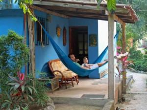 Rondreis Yucatan met kinderen - Izamal hangmat