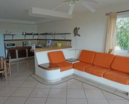 Alternatief verblijf Bacalar Mexico Kids - hotel woonkamer