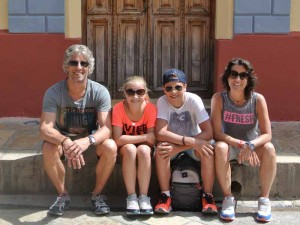Campeche Mexico Kids - familiereis