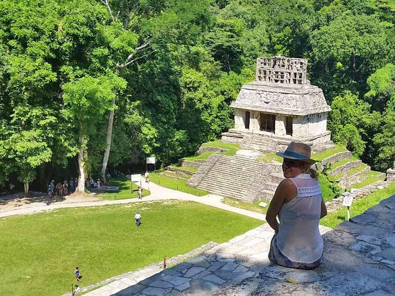 Palenque Mexico Kids - familiereis
